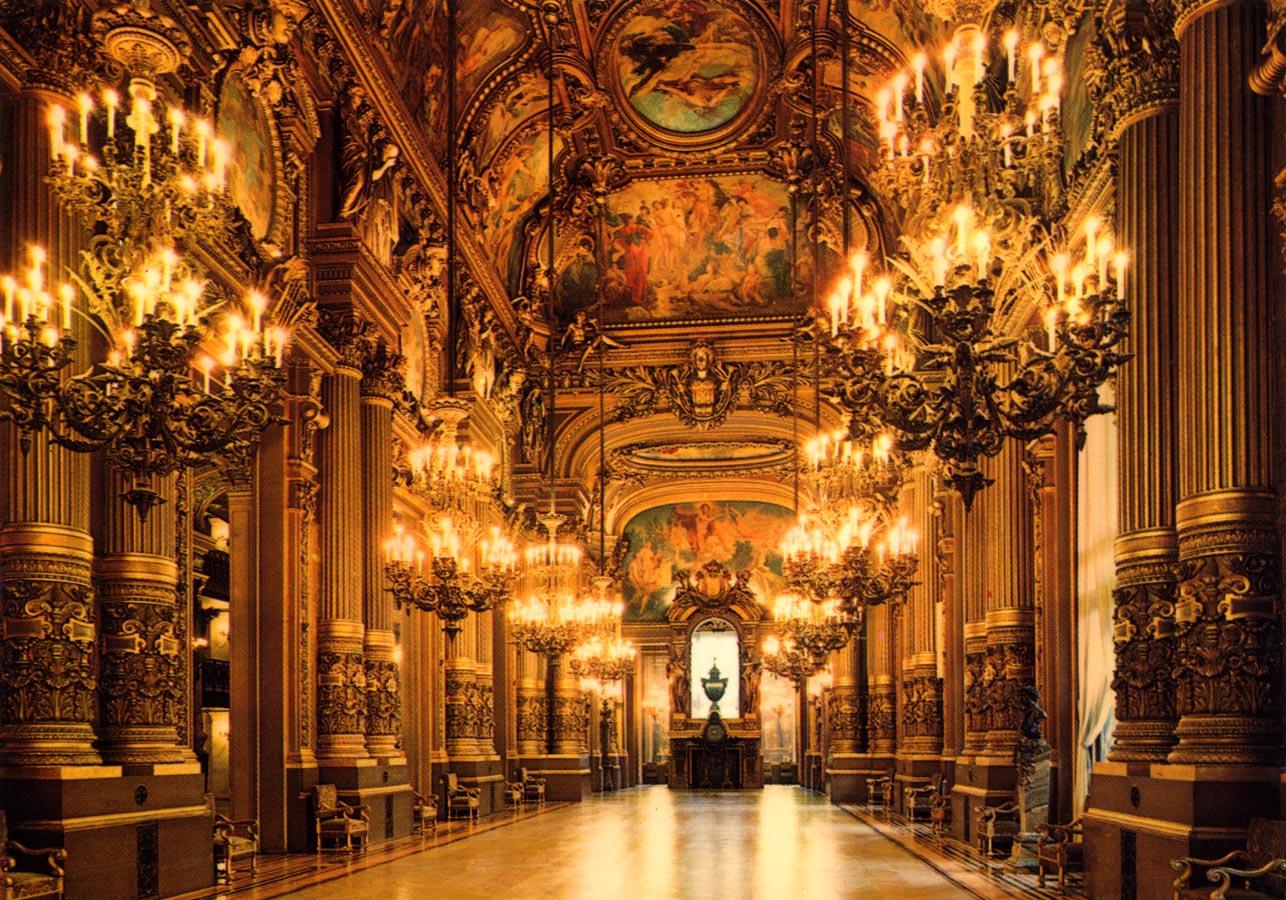 Grand Foyer Palais De La Bourse : Le grand foyer